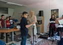Theremin-Workshop mit Dorit Chrysler, Foto: Eva Ursprung